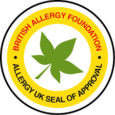 Doporučeno British Allergy Foundation